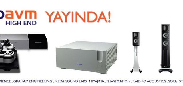 Artik ust tarafta ki arama motorunda kategori bazinda arama yapabileceksiniz. Tamamı ile değisen gorünümü ile yeni www.audioavm.comsitesi yayında. Ozan Turan Audioavm; Ansuz Acoustics, Audience, Graham Engineering, Ikeda Sound Labs, Miyajima Labs, Phasemation, Raidho Acoustics, Scansonic, SOTA, Stage III, Techdas, Ypsilon, Zyx Türkiye distribütörüdür. Daha fazla bilgi için: www.audioavm.com Benzer YazılarTTAF […]